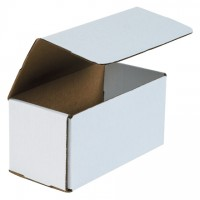 Indestructo Mailers, White, 8 x 4 x 4""