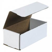 Indestructo Mailers, White, 8 x 4 x 3""