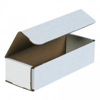 Indestructo Mailers, White, 8 x 3 x 2""