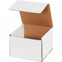 Indestructo Mailers, White, 7 x 7 x 5""