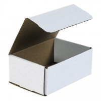 Indestructo Mailers, White, 7 1/8 x 5 x 3""