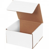 Indestructo Mailers, White, 7 x 7 x 4""