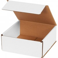 Indestructo Mailers, White, 7 x 7 x 3""