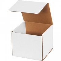 Indestructo Mailers, White, 7 x 7 x 6""