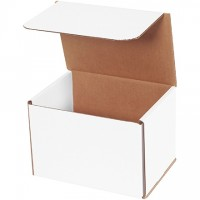 Indestructo Mailers, White, 7 x 5 x 5""