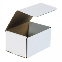 Indestructo Mailers, White, 6 1/2 x 4 7/8 x 3 3/4""