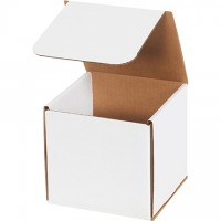"""Indestructo Mailers, White, 6 x 6 x 6"""""""