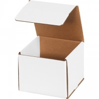 """Indestructo Mailers, White, 6 x 6 x 5"""""""