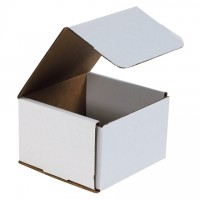 """Indestructo Mailers, White, 6 x 6 x 4"""""""