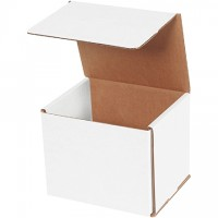"""Indestructo Mailers, White, 6 x 5 x 5"""""""