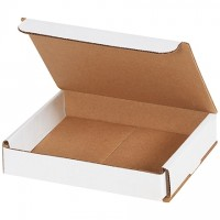 """Indestructo Mailers, White, 6 x 5 x 1"""""""