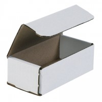 """Indestructo Mailers, White, 6 x 3 5/8 x 2"""""""