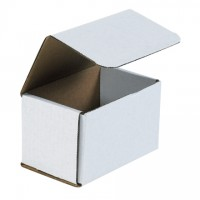 Indestructo Mailers, White, 5 1/2 x 3 1/2 x 3 1/2""