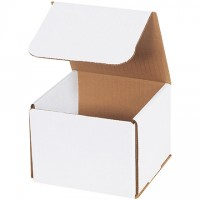 Indestructo Mailers, White, 5 x 5 x 4""