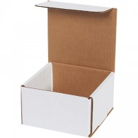 Indestructo Mailers, White, 5 x 5 x 3""