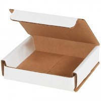 Indestructo Mailers, White, 4 x 4 x 1""