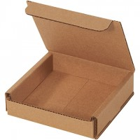 Indestructo Mailers, Kraft, 4 x 4 x 1""