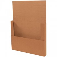 "Easy-Fold Mailers, Kraft, 20 x 16"""