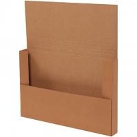 "Easy-Fold Mailers, Kraft, 18 x 12"""