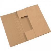 "Easy-Fold Mailers, Kraft, 15 x 11 1/8"""