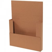 "Easy-Fold Mailers, Kraft, 14 1/4 x 11 1/4"""