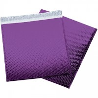 Glamour Bubble Mailers, Purple, 16 x 17 1/2""