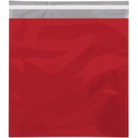 Glamour Mailers, Flat, Metallic Red, 10 3/4 x 13""