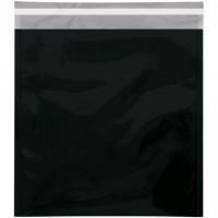 "Glamour Mailers, Flat, Metallic Black, 10 3/4 x 13"""