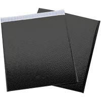 """Glamour Bubble Mailers, Black, 19 x 22 1/2"""""""