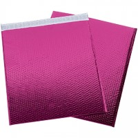 Glamour Bubble Mailers, Pink, 19 x 22 1/2""