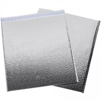 Glamour Bubble Mailers, Silver, 19 x 22 1/2""