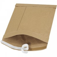 "Padded Mailers, #2, 8 1/2 x 12"", Kraft, Self-Seal"