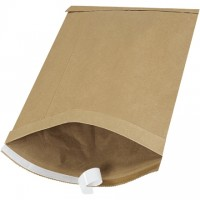 "Padded Mailers, #5, 10 1/2 x 16"", Kraft, Self-Seal"