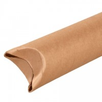 "Mailing Tubes, Snap-Seal, Round, Kraft, 4 x 12"", .080"" thick"