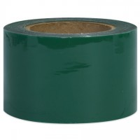 "Green Bundling Stretch Film, 80 Gauge, 3"" x 1000'"