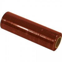 "Red Cast Hand Stretch Film, 80 Gauge, 18"" x 1500'"