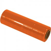 "Orange Cast Hand Stretch Film, 80 Gauge, 18"" x 1500'"