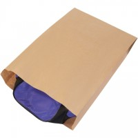 "Kraft Paper Merchandise Bags, #21, Gusseted - 17 x 4 x 24"""