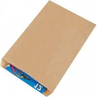 "Kraft Paper Merchandise Bags, #7 - 7 1/2 x 10 1/2"""