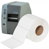 """White Thermal Transfer Labels, 6 x 4"""""""