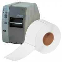 """White Thermal Transfer Labels, 4 x 6 1/2"""""""