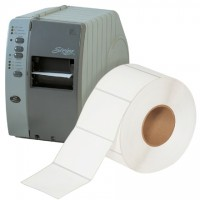 """White Thermal Transfer Labels, 4 x 3"""""""