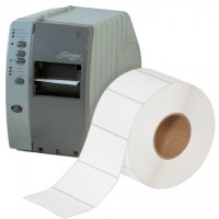 """White Thermal Transfer Labels, 4 x 2 1/2"""""""