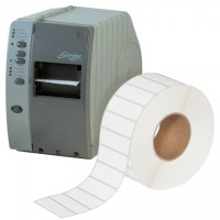 """White Thermal Transfer Labels, 3 x 1"""""""