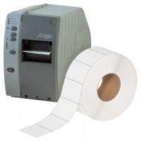 """White Thermal Transfer Labels, 3 x 2"""""""