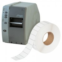 """White Thermal Transfer Labels, 2 x 1"""""""