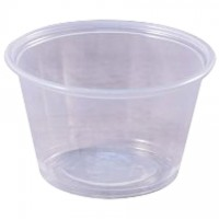 Plastic Portion Cups, 4 oz.