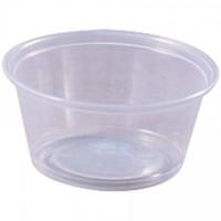 Plastic Portion Cups, 3 1/4 oz.