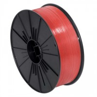 "Plastic Twist Tie Spool, Red 5/32"" x 7000'"