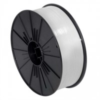 "Plastic Twist Tie Spool, White 5/32"" x 7000'"